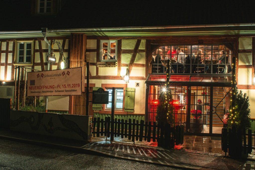 Schweizerstube Restaurant Karlsbad Ittersbach