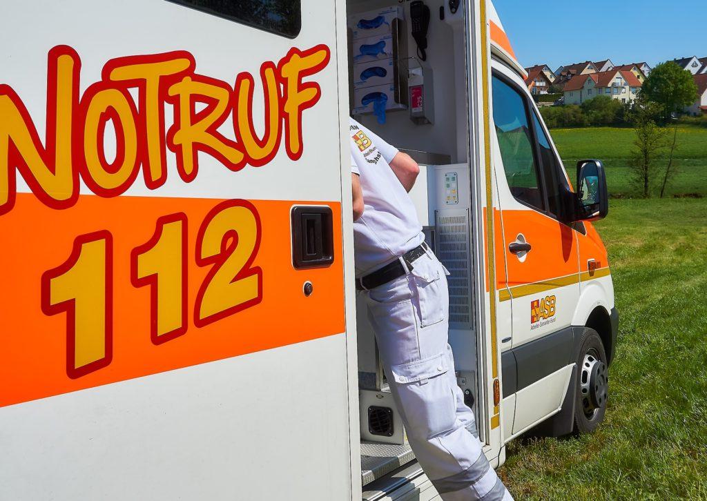 Rettungswagen Notruf 112